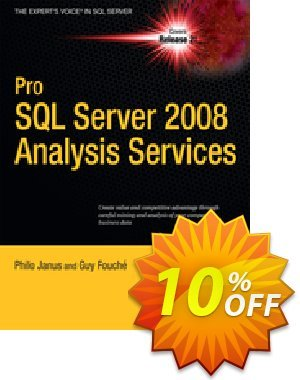 Pro SQL Server 2008 Analysis Services (Janus) discount coupon Pro SQL Server 2008 Analysis Services (Janus) Deal - Pro SQL Server 2008 Analysis Services (Janus) Exclusive Easter Sale offer for iVoicesoft
