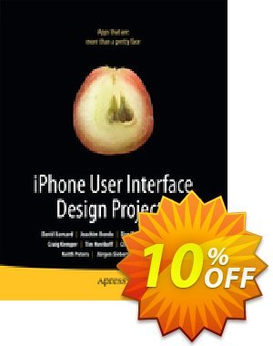 iPhone User Interface Design Projects (Bondo) discount coupon iPhone User Interface Design Projects (Bondo) Deal - iPhone User Interface Design Projects (Bondo) Exclusive Easter Sale offer for iVoicesoft