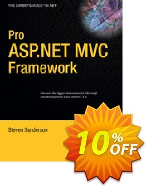 Pro ASP.NET MVC Framework (Sanderson) discount coupon Pro ASP.NET MVC Framework (Sanderson) Deal - Pro ASP.NET MVC Framework (Sanderson) Exclusive Easter Sale offer for iVoicesoft