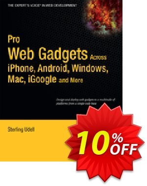Pro Web Gadgets for Mobile and Desktop (Udell) discount coupon Pro Web Gadgets for Mobile and Desktop (Udell) Deal - Pro Web Gadgets for Mobile and Desktop (Udell) Exclusive Easter Sale offer for iVoicesoft