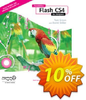 Foundation Flash CS4 for Designers (Green) 優惠券,折扣碼 Foundation Flash CS4 for Designers (Green) Deal,促銷代碼: Foundation Flash CS4 for Designers (Green) Exclusive Easter Sale offer for iVoicesoft