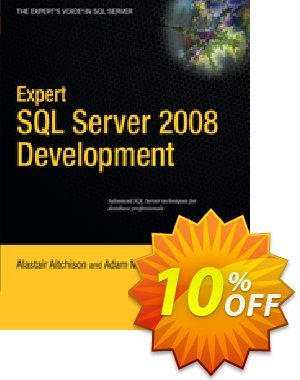 Expert SQL Server 2008 Development (Aitchison) discount coupon Expert SQL Server 2008 Development (Aitchison) Deal - Expert SQL Server 2008 Development (Aitchison) Exclusive Easter Sale offer for iVoicesoft