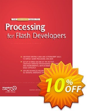 The Essential Guide to Processing for Flash Developers (Greenberg) 優惠券,折扣碼 The Essential Guide to Processing for Flash Developers (Greenberg) Deal,促銷代碼: The Essential Guide to Processing for Flash Developers (Greenberg) Exclusive Easter Sale offer for iVoicesoft