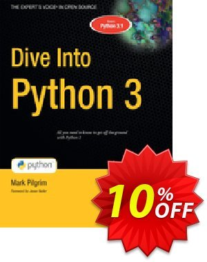 Dive Into Python 3 (Pilgrim) discount coupon Dive Into Python 3 (Pilgrim) Deal - Dive Into Python 3 (Pilgrim) Exclusive Easter Sale offer for iVoicesoft