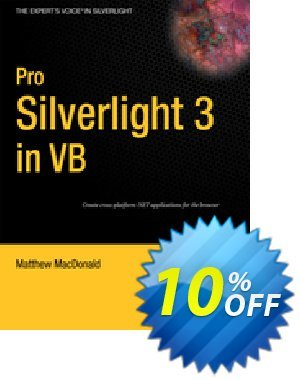 Pro Silverlight 3 in VB (MacDonald) 프로모션 코드 Pro Silverlight 3 in VB (MacDonald) Deal 프로모션: Pro Silverlight 3 in VB (MacDonald) Exclusive Easter Sale offer for iVoicesoft