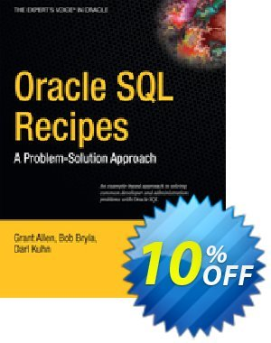 Oracle SQL Recipes (Allen) 프로모션 코드 Oracle SQL Recipes (Allen) Deal 프로모션: Oracle SQL Recipes (Allen) Exclusive Easter Sale offer for iVoicesoft