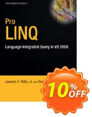 Pro LINQ in VB8 (Rattz) discount coupon Pro LINQ in VB8 (Rattz) Deal - Pro LINQ in VB8 (Rattz) Exclusive Easter Sale offer for iVoicesoft