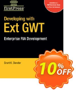 Developing with Ext GWT (Slender) discount coupon Developing with Ext GWT (Slender) Deal - Developing with Ext GWT (Slender) Exclusive Easter Sale offer for iVoicesoft
