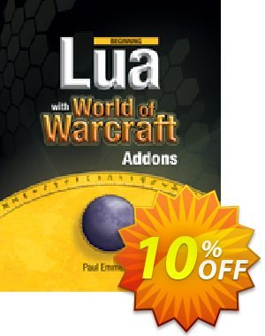 Beginning Lua with World of Warcraft Add-ons (Emmerich) discount coupon Beginning Lua with World of Warcraft Add-ons (Emmerich) Deal - Beginning Lua with World of Warcraft Add-ons (Emmerich) Exclusive Easter Sale offer for iVoicesoft