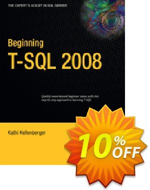 Beginning T-SQL 2008 (Kellenberger) discount coupon Beginning T-SQL 2008 (Kellenberger) Deal - Beginning T-SQL 2008 (Kellenberger) Exclusive Easter Sale offer for iVoicesoft