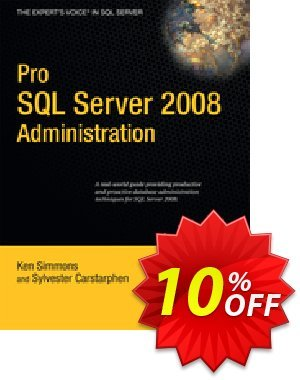 Pro SQL Server 2008 Administration (Simmons) discount coupon Pro SQL Server 2008 Administration (Simmons) Deal - Pro SQL Server 2008 Administration (Simmons) Exclusive Easter Sale offer for iVoicesoft
