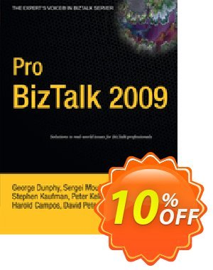 Pro BizTalk 2009 (Dunphy) 프로모션 코드 Pro BizTalk 2009 (Dunphy) Deal 프로모션: Pro BizTalk 2009 (Dunphy) Exclusive Easter Sale offer for iVoicesoft