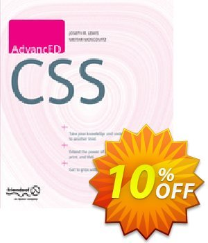 AdvancED CSS (Lewis) discount coupon AdvancED CSS (Lewis) Deal - AdvancED CSS (Lewis) Exclusive Easter Sale offer for iVoicesoft