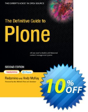 The Definitive Guide to Plone (McKay) discount coupon The Definitive Guide to Plone (McKay) Deal - The Definitive Guide to Plone (McKay) Exclusive Easter Sale offer for iVoicesoft