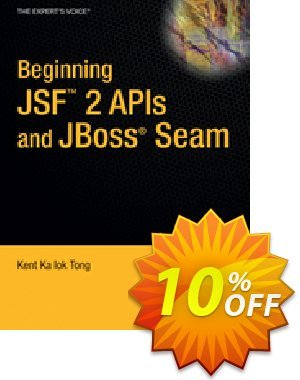 Beginning JSF™ 2 APIs and JBoss® Seam (Tong) discount coupon Beginning JSF™ 2 APIs and JBoss® Seam (Tong) Deal - Beginning JSF™ 2 APIs and JBoss® Seam (Tong) Exclusive Easter Sale offer for iVoicesoft