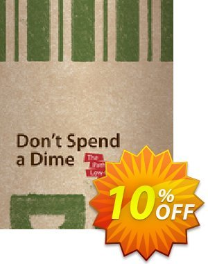 Don't Spend A Dime (Floyd Kelly) discount coupon Don't Spend A Dime (Floyd Kelly) Deal - Don't Spend A Dime (Floyd Kelly) Exclusive Easter Sale offer for iVoicesoft
