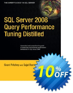 SQL Server 2008 Query Performance Tuning Distilled (Dam) discount coupon SQL Server 2008 Query Performance Tuning Distilled (Dam) Deal - SQL Server 2008 Query Performance Tuning Distilled (Dam) Exclusive Easter Sale offer for iVoicesoft