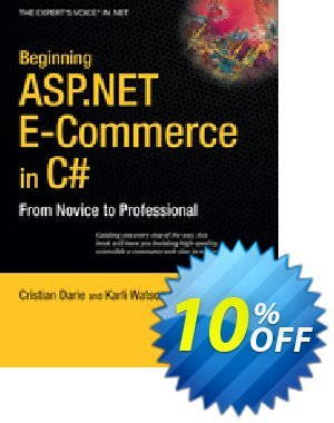 Beginning ASP.NET E-Commerce in C# (Watson) discount coupon Beginning ASP.NET E-Commerce in C# (Watson) Deal - Beginning ASP.NET E-Commerce in C# (Watson) Exclusive Easter Sale offer for iVoicesoft