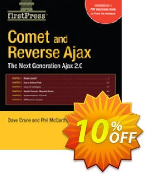 Comet and Reverse Ajax (McCarthy) 優惠券,折扣碼 Comet and Reverse Ajax (McCarthy) Deal,促銷代碼: Comet and Reverse Ajax (McCarthy) Exclusive Easter Sale offer for iVoicesoft