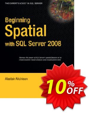 Beginning Spatial with SQL Server 2008 (Aitchison) 優惠券,折扣碼 Beginning Spatial with SQL Server 2008 (Aitchison) Deal,促銷代碼: Beginning Spatial with SQL Server 2008 (Aitchison) Exclusive Easter Sale offer for iVoicesoft