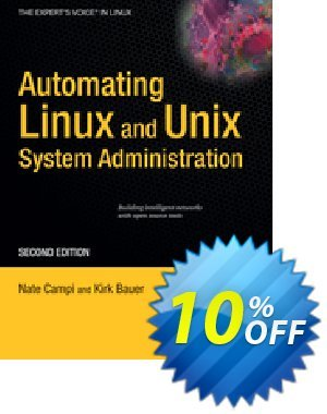 Automating Linux and Unix System Administration (Campi) 優惠券,折扣碼 Automating Linux and Unix System Administration (Campi) Deal,促銷代碼: Automating Linux and Unix System Administration (Campi) Exclusive Easter Sale offer for iVoicesoft