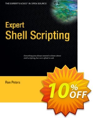Expert Shell Scripting (Peters) discount coupon Expert Shell Scripting (Peters) Deal - Expert Shell Scripting (Peters) Exclusive Easter Sale offer for iVoicesoft