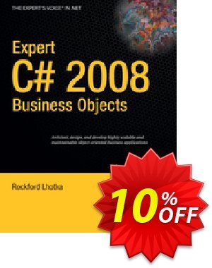 Expert C# 2008 Business Objects (Lhotka) discount coupon Expert C# 2008 Business Objects (Lhotka) Deal - Expert C# 2008 Business Objects (Lhotka) Exclusive Easter Sale offer for iVoicesoft