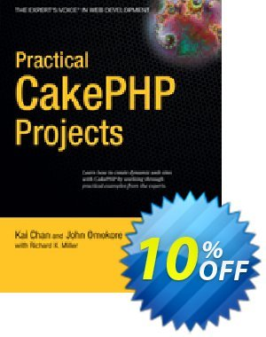 Practical CakePHP Projects (Miller) discount coupon Practical CakePHP Projects (Miller) Deal - Practical CakePHP Projects (Miller) Exclusive Easter Sale offer for iVoicesoft