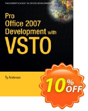 Pro Office 2007 Development with VSTO (Anderson) discount coupon Pro Office 2007 Development with VSTO (Anderson) Deal - Pro Office 2007 Development with VSTO (Anderson) Exclusive Easter Sale offer for iVoicesoft