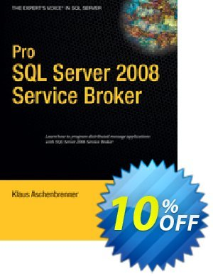 Pro SQL Server 2008 Service Broker (Aschenbrenner) discount coupon Pro SQL Server 2008 Service Broker (Aschenbrenner) Deal - Pro SQL Server 2008 Service Broker (Aschenbrenner) Exclusive Easter Sale offer for iVoicesoft