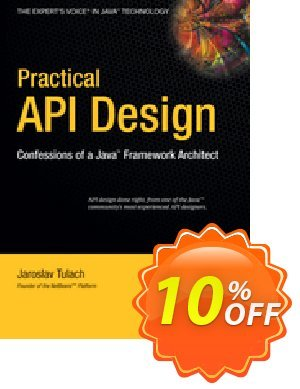 Practical API Design (Tulach) 프로모션 코드 Practical API Design (Tulach) Deal 프로모션: Practical API Design (Tulach) Exclusive Easter Sale offer for iVoicesoft