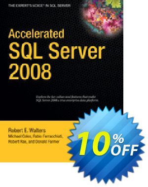 Accelerated SQL Server 2008 (Coles) 프로모션 코드 Accelerated SQL Server 2008 (Coles) Deal 프로모션: Accelerated SQL Server 2008 (Coles) Exclusive Easter Sale offer for iVoicesoft