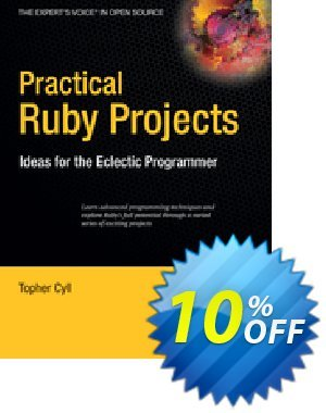 Practical Ruby Projects (Cyll) 優惠券,折扣碼 Practical Ruby Projects (Cyll) Deal,促銷代碼: Practical Ruby Projects (Cyll) Exclusive Easter Sale offer for iVoicesoft