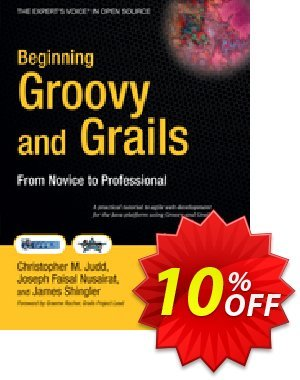 Beginning Groovy and Grails (Shingler) 優惠券,折扣碼 Beginning Groovy and Grails (Shingler) Deal,促銷代碼: Beginning Groovy and Grails (Shingler) Exclusive Easter Sale offer for iVoicesoft