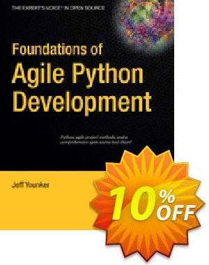 Foundations of Agile Python Development (Younker) discount coupon Foundations of Agile Python Development (Younker) Deal - Foundations of Agile Python Development (Younker) Exclusive Easter Sale offer for iVoicesoft