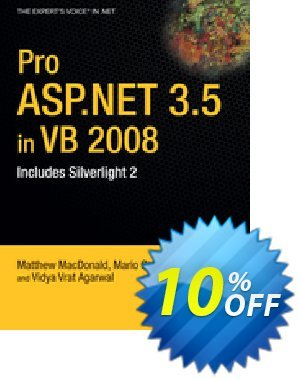 Pro ASP.NET 3.5 in VB 2008 (Szpuszta) discount coupon Pro ASP.NET 3.5 in VB 2008 (Szpuszta) Deal - Pro ASP.NET 3.5 in VB 2008 (Szpuszta) Exclusive Easter Sale offer for iVoicesoft