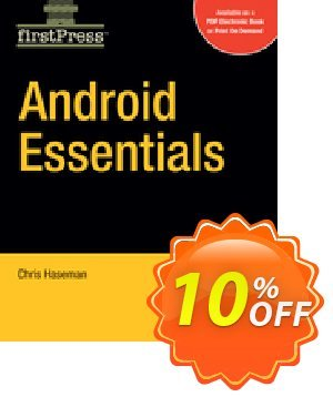 Android Essentials (Haseman) discount coupon Android Essentials (Haseman) Deal - Android Essentials (Haseman) Exclusive Easter Sale offer for iVoicesoft