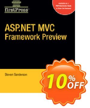 ASP.NET MVC Framework Preview (Sanderson) discount coupon ASP.NET MVC Framework Preview (Sanderson) Deal - ASP.NET MVC Framework Preview (Sanderson) Exclusive Easter Sale offer for iVoicesoft