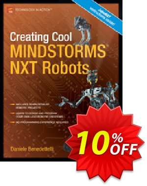 Creating Cool MINDSTORMS NXT Robots (Benedettelli) discount coupon Creating Cool MINDSTORMS NXT Robots (Benedettelli) Deal - Creating Cool MINDSTORMS NXT Robots (Benedettelli) Exclusive Easter Sale offer for iVoicesoft