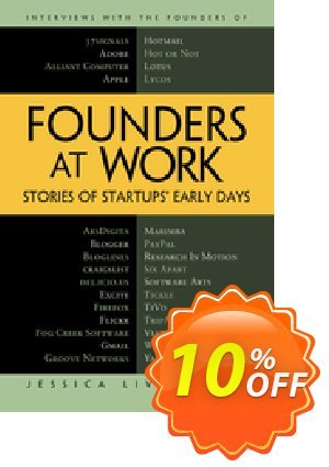 Founders at Work (Livingston) discount coupon Founders at Work (Livingston) Deal - Founders at Work (Livingston) Exclusive Easter Sale offer for iVoicesoft