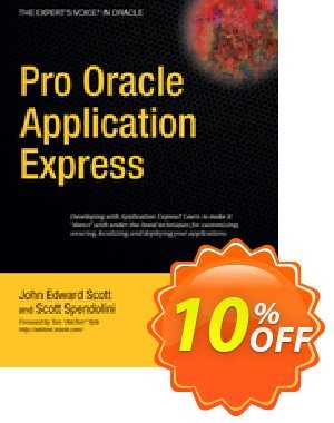 Pro Oracle Application Express (Scott)割引コード・Pro Oracle Application Express (Scott) Deal キャンペーン:Pro Oracle Application Express (Scott) Exclusive Easter Sale offer for iVoicesoft