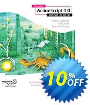 Foundation ActionScript 3.0 with Flash CS3 and Flex (McSharry) discount coupon Foundation ActionScript 3.0 with Flash CS3 and Flex (McSharry) Deal - Foundation ActionScript 3.0 with Flash CS3 and Flex (McSharry) Exclusive Easter Sale offer for iVoicesoft