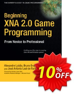 Beginning XNA 2.0 Game Programming (Santos Lobao) discount coupon Beginning XNA 2.0 Game Programming (Santos Lobao) Deal - Beginning XNA 2.0 Game Programming (Santos Lobao) Exclusive Easter Sale offer for iVoicesoft