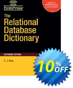 The Relational Database Dictionary, Extended Edition (Date) discount coupon The Relational Database Dictionary, Extended Edition (Date) Deal - The Relational Database Dictionary, Extended Edition (Date) Exclusive Easter Sale offer for iVoicesoft