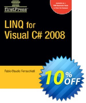 LINQ for Visual C# 2008 (Ferracchiati) discount coupon LINQ for Visual C# 2008 (Ferracchiati) Deal - LINQ for Visual C# 2008 (Ferracchiati) Exclusive Easter Sale offer for iVoicesoft