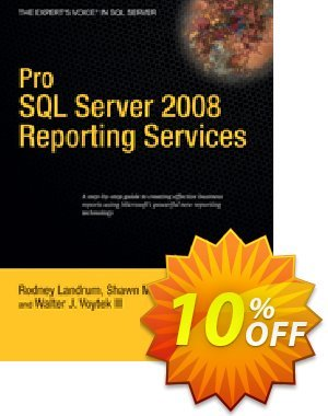 Pro SQL Server 2008 Reporting Services (Landrum) discount coupon Pro SQL Server 2008 Reporting Services (Landrum) Deal - Pro SQL Server 2008 Reporting Services (Landrum) Exclusive Easter Sale offer for iVoicesoft