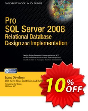 Pro SQL Server 2008 Relational Database Design and Implementation (Davidson) 프로모션 코드 Pro SQL Server 2008 Relational Database Design and Implementation (Davidson) Deal 프로모션: Pro SQL Server 2008 Relational Database Design and Implementation (Davidson) Exclusive Easter Sale offer for iVoicesoft