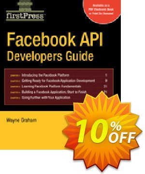 Facebook API Developers Guide (Graham) 優惠券,折扣碼 Facebook API Developers Guide (Graham) Deal,促銷代碼: Facebook API Developers Guide (Graham) Exclusive Easter Sale offer for iVoicesoft