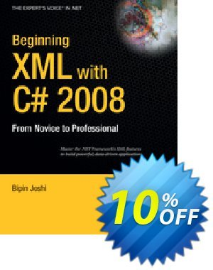 Beginning XML with C# 2008 (Joshi) discount coupon Beginning XML with C# 2008 (Joshi) Deal - Beginning XML with C# 2008 (Joshi) Exclusive Easter Sale offer for iVoicesoft