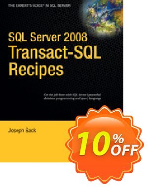 SQL Server 2008 Transact-SQL Recipes (Sack) discount coupon SQL Server 2008 Transact-SQL Recipes (Sack) Deal - SQL Server 2008 Transact-SQL Recipes (Sack) Exclusive Easter Sale offer for iVoicesoft